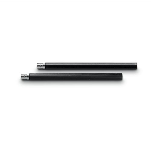 Cinq crayons Graf von Faber-Castell - graphite n°V Noir