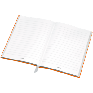 Cahier de note Montblanc Orange